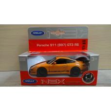 Модель автомобиля Porsche 911 GT3 RS оранжевый 3 (1/36)
