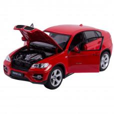 Модель автомобиля BMW X6 (1/24)