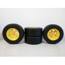 Комплект колес Lego Technic (94.3мм x 38мм)