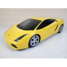 Радиоуправляемая машина Lamborghini Gallardo желтая (1/17)