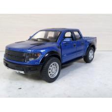 Модель автомобиля Ford F-150 синий (1/46)