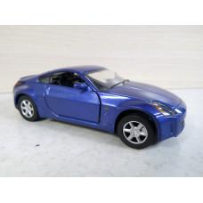 Модель автомобиля Nissan 350Z синий (1/32)