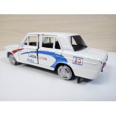Модель автомобиля ВАЗ-2106 ралли 1/36 (100 баллов)