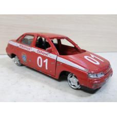 Модель автомобиля ВАЗ-2110 пожарка (1/36)