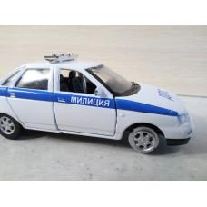 Модель автомобиля ВАЗ-2110 милиция ДПС (1/36)