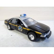Модель автомобиля Chevrolet Caprice черный (1/42)