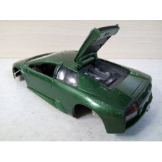 Модель автомобиля Lamborghini Murcielago 1/24 зел. (300 баллов)