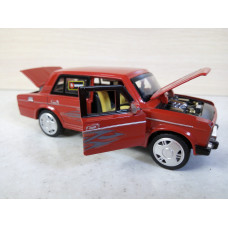 Модель автомобиля ВАЗ-2106 1/30 (400 баллов)