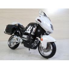 Модель мотоцикла BMW полиция (1/18)
