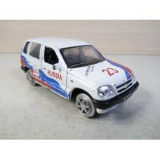 Модель автомобиля Нива Шевроле Rally (1/36)