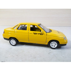 Модель автомобиля ВАЗ-2110 такси (1/43)