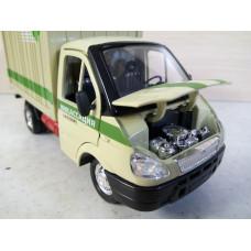 Модель автомобиля Газель контейнер (1/37)