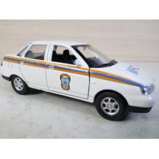 Модель автомобиля ВАЗ 2110 МЧС (1/36)