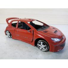 Модель Peugeot 206 1/32 (80 баллов)