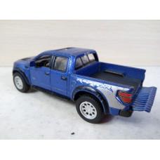 Модель автомобиля Ford F-150 синий №2 (1/46)