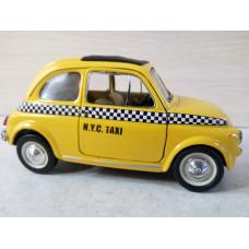 Модель автомобиля Fiat 500 №2 (1/22)
