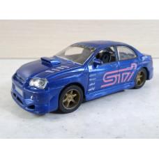 Модель автомобиля Subaru Impreza WRX (1/45)