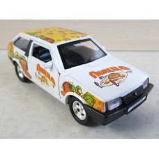 Модель автомобиля Lada 2108 пицца (1/36)