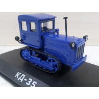 Модель трактора КД-35 №2 (1/43)