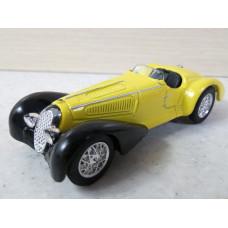 Модель автомобиля Alfa Romeo 1938 8C 2900 (1/44)
