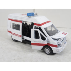 Модель грузового автомобиля Ford Transit (1/43)