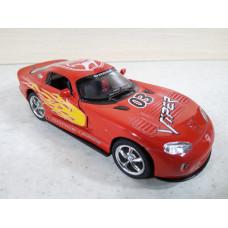 Модель автомобиля Dodge Viper №2 (1/36)