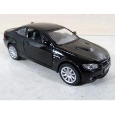 Модель автомобиля BMW M3 черная (1/36)