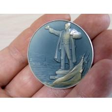 Медаль родившемуся в Ленинграде 1981г