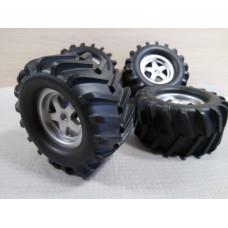 Комплект колес для радейки (89мм/46мм)