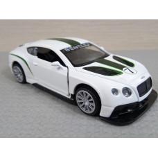 Модель автомобиля Bentley Continental GT3 (1/42)