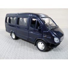 Модель автомобиля Газель синяя (1/43)