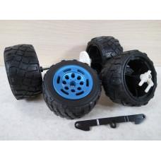Комплект колес (7,4см/3,7см)