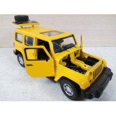 Модель автомобиля Jeep Wrangler (1/30)