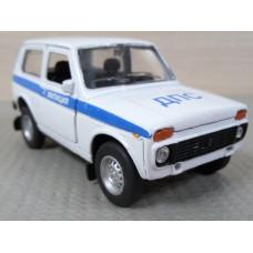 Модель автомобиля Нива ДПС (1/36)