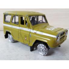 Модель автомобиля УАЗ ВАИ (1/36)