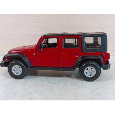 Модель автомобиля Jeep Wrangler Rubicon (1/32)